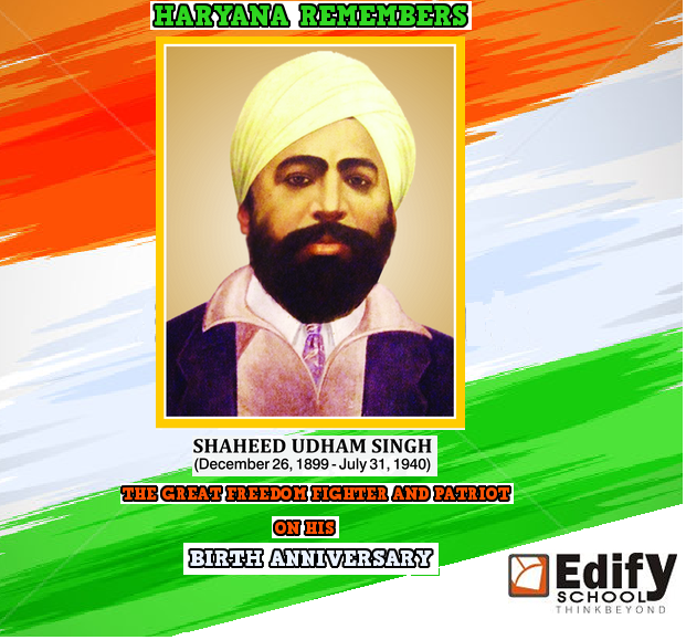 Happy Birthday To Shaheed Udham Singh