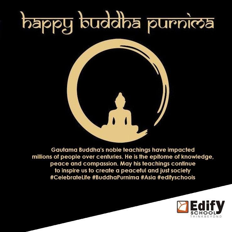Happy Buddha Purnima - edifyschools