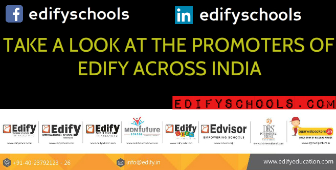 TAKE A LOOK AT THE PROMOTERS OF EDIFY ACROSS INDIA!!