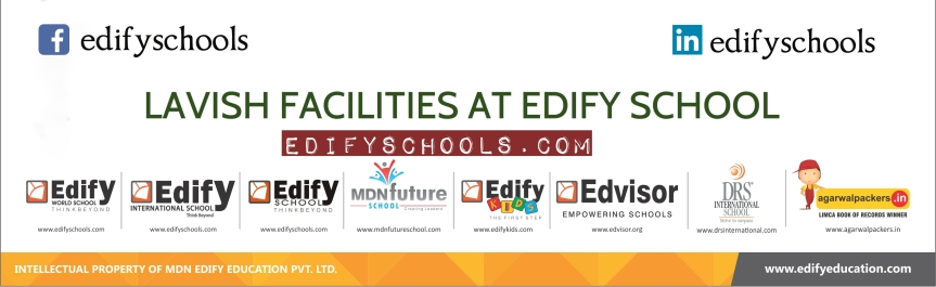 LAVISH FACILITIES AT EDIFY SCHOOL