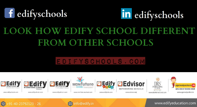 LOOK HOW EDIFY SCHOOL DIFFERENT FROM OTHER SCHOOLS