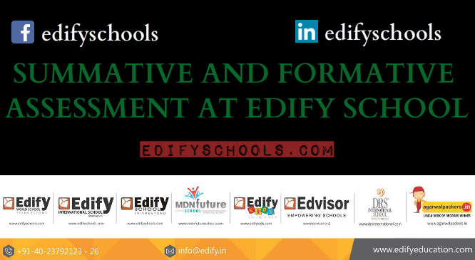 SUMMATIVE AND FORMATIVE ASSESSMENT AT EDIFY SCHOOL