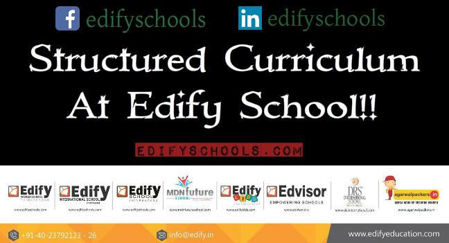 Structured Curriculum At EdifySchool!!