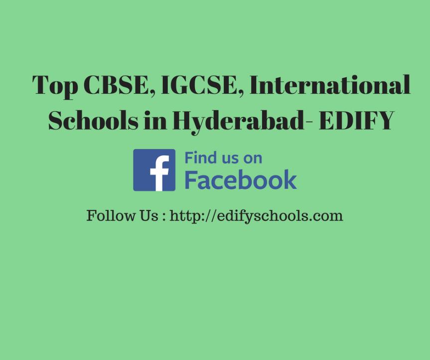 Top CBSE, IGCSE, International Schools in Hyderabad-EDIFY