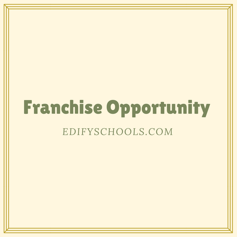 Franchise Opportunity – EDIFY