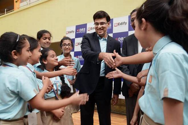 Viswanathan Anand Brand Ambassador Of Edify Education